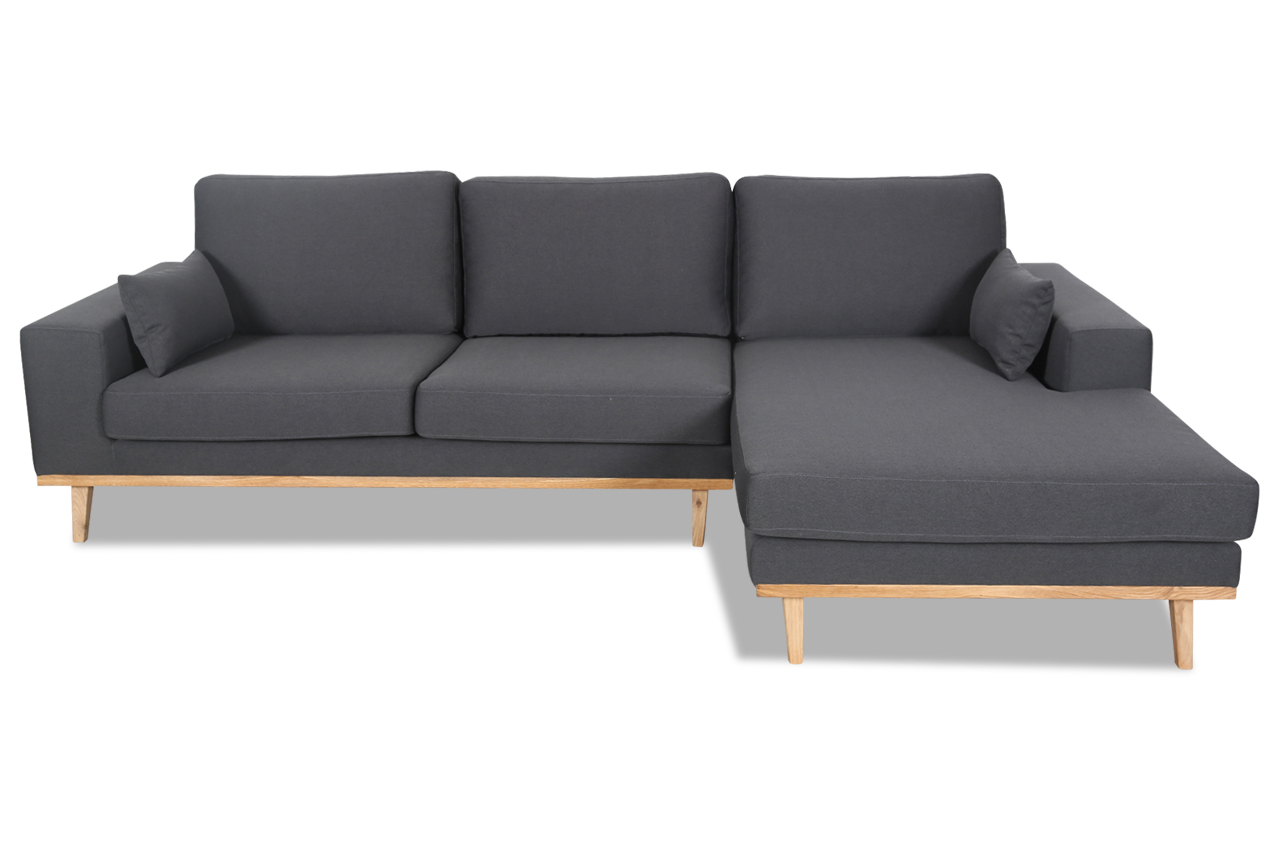 stolmar ecksofa torino anthrazit stoff sofa couch ebay. Black Bedroom Furniture Sets. Home Design Ideas