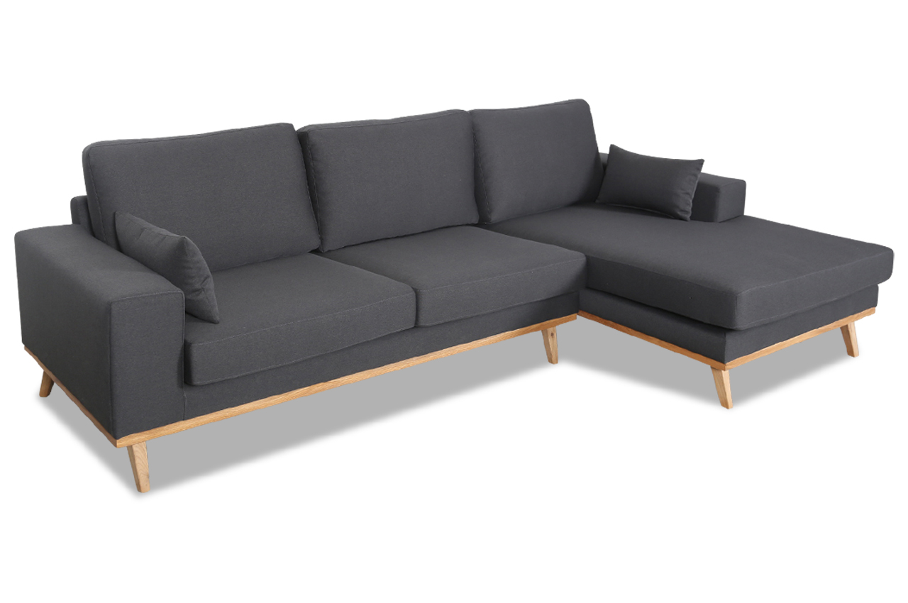 Stolmar ecksofa torino anthrazit stoff sofa couch ebay for Ecksofa torino