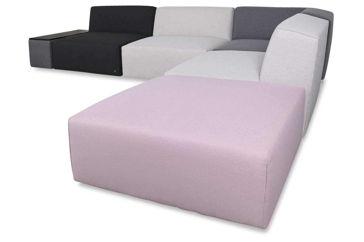 tom tailor ecksofa xl elements mit hocker bunt sofas zum halben preis. Black Bedroom Furniture Sets. Home Design Ideas