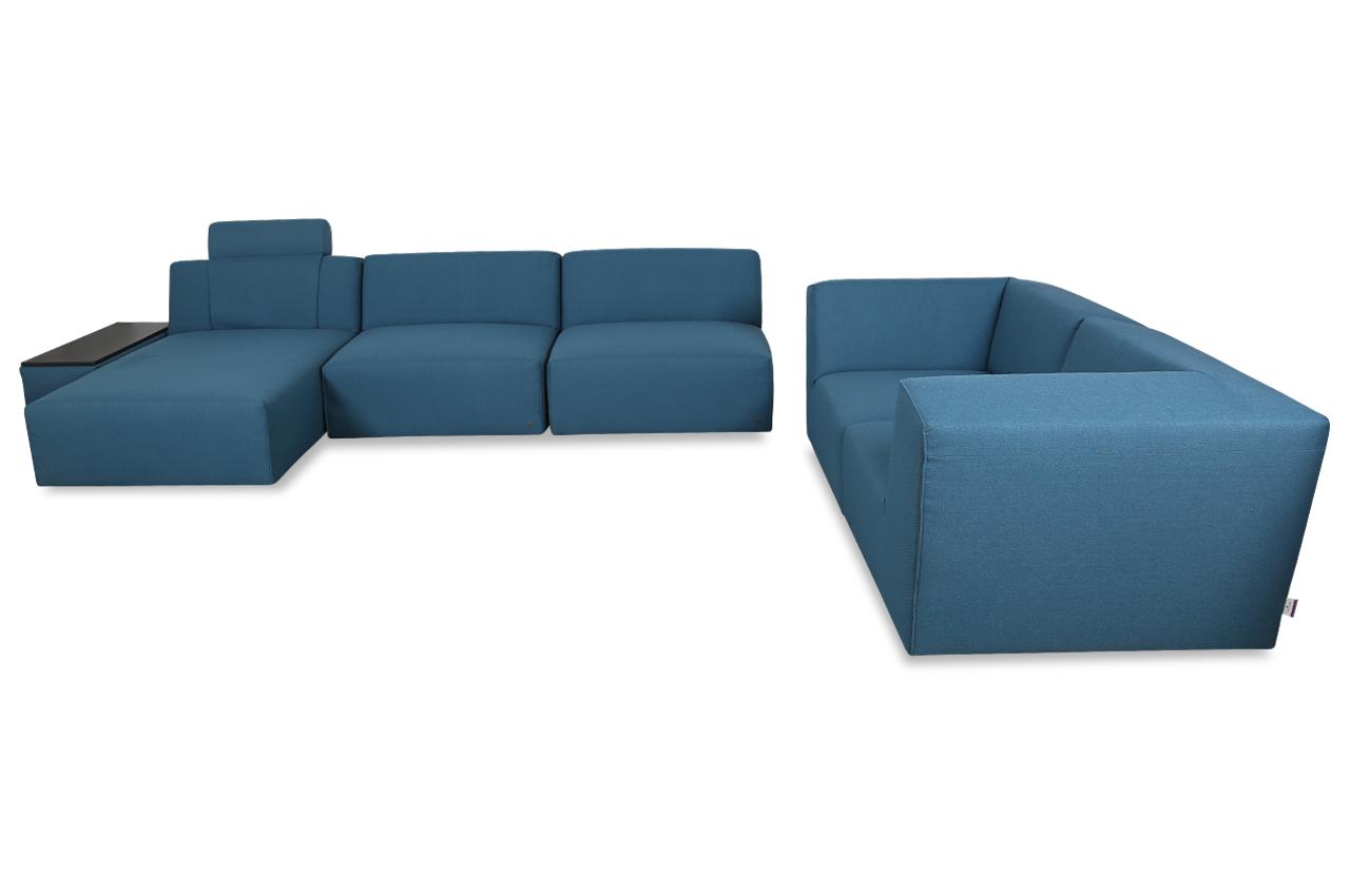 tom tailor ecksofa elements mit sessel blau sofas zum. Black Bedroom Furniture Sets. Home Design Ideas