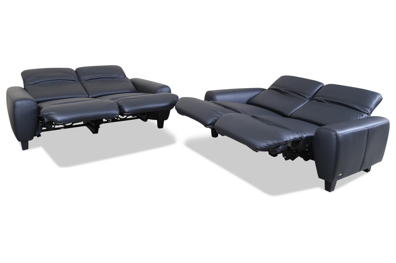 leder garnitur schwarz sofas zum halben preis. Black Bedroom Furniture Sets. Home Design Ideas