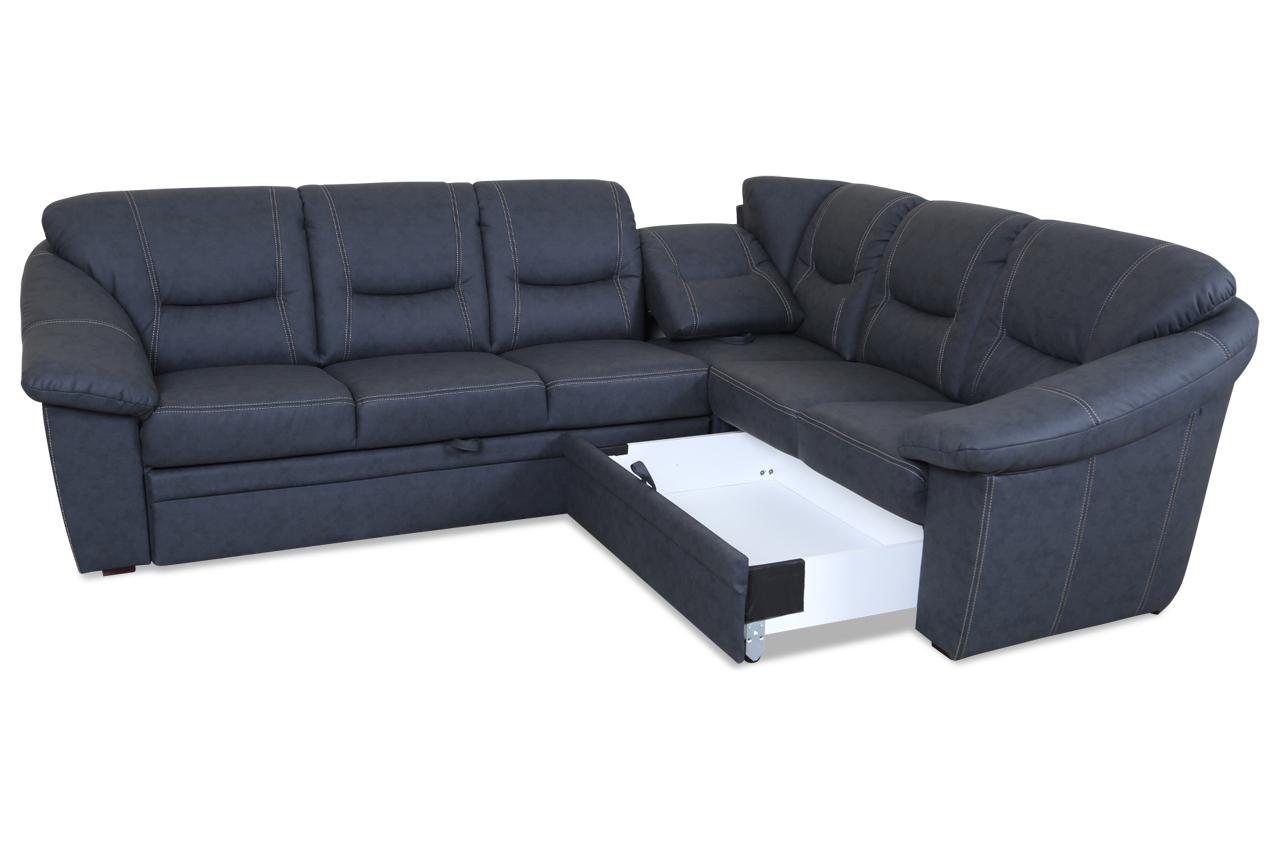 rundecke talos mit relax und schlaffunktion anthrazit sofas zum halben preis. Black Bedroom Furniture Sets. Home Design Ideas