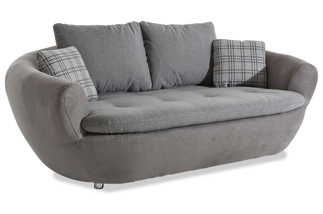 2er sofa lagoon grau sofas zum halben preis. Black Bedroom Furniture Sets. Home Design Ideas