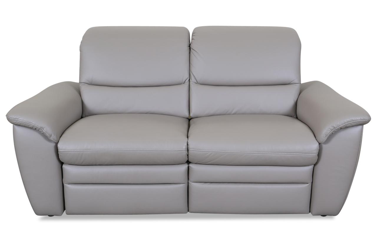 Leder 2er Sofa Grau Sofas Zum Halben Preis