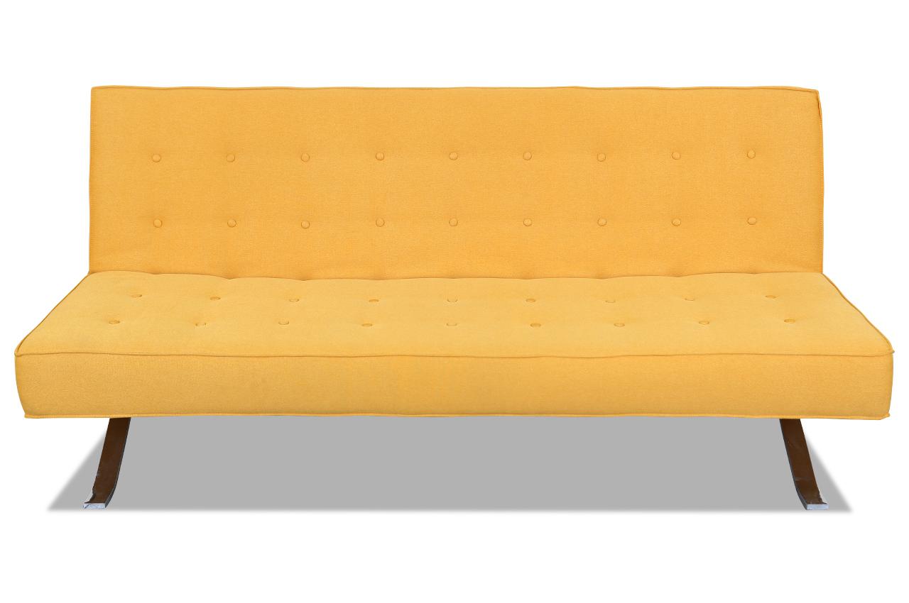 3er sofa mit schlaffunktion gelb sofas zum halben preis. Black Bedroom Furniture Sets. Home Design Ideas