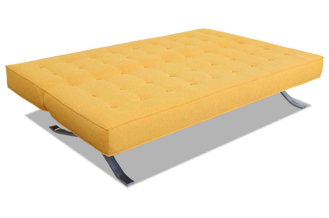 3er Sofa Mit Schlaffunktion Gelb Sofas Zum Halben Preis