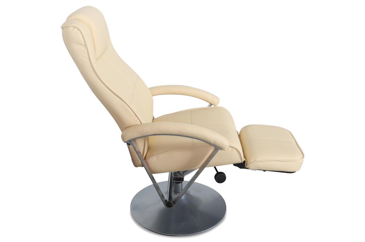 furntrade fernsehsessel 14273 mit relax creme. Black Bedroom Furniture Sets. Home Design Ideas