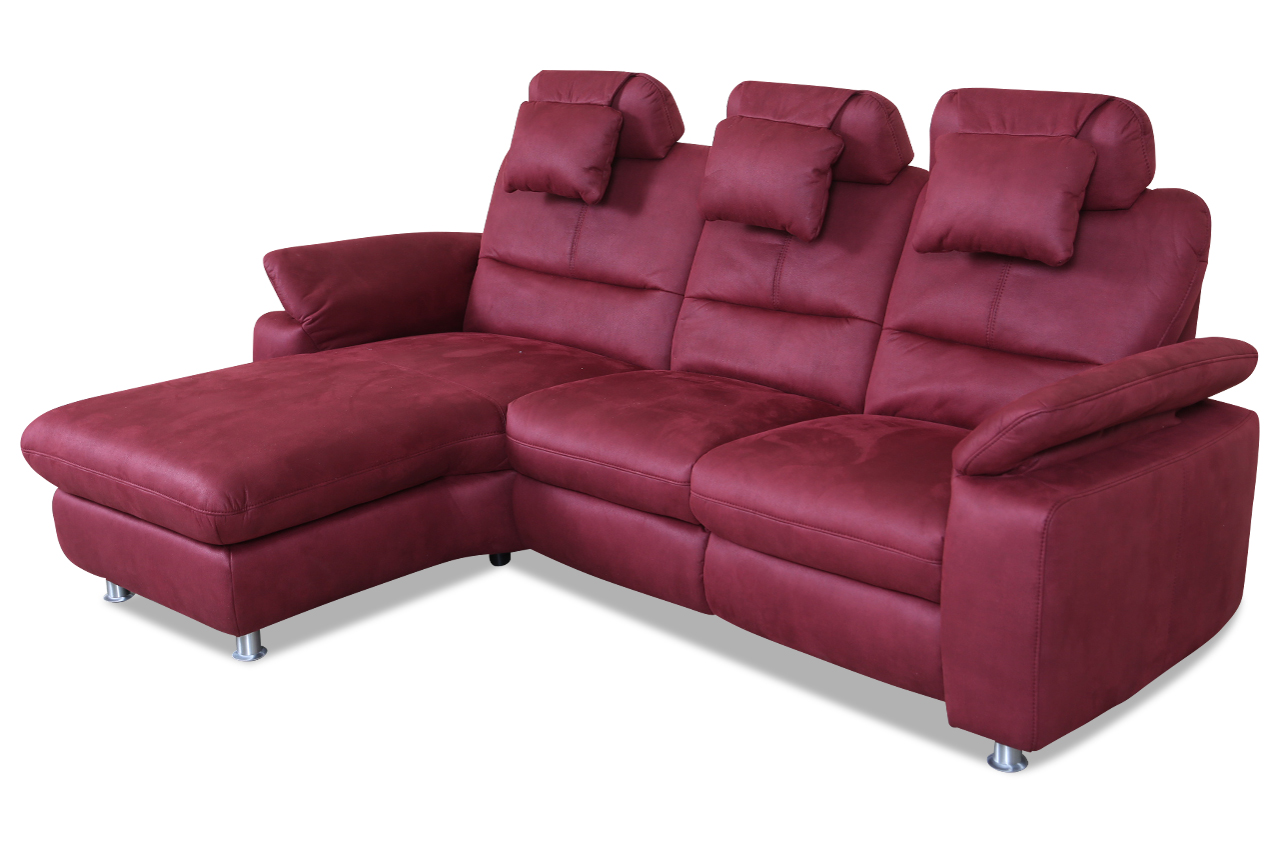 Ecksofa luxus  Ecksofa - Rot | Sofas zum halben Preis