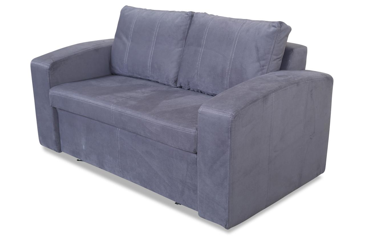 furntrade 2er sofa dakar mit schlaffunktion anthrazit sofas zum halben preis. Black Bedroom Furniture Sets. Home Design Ideas