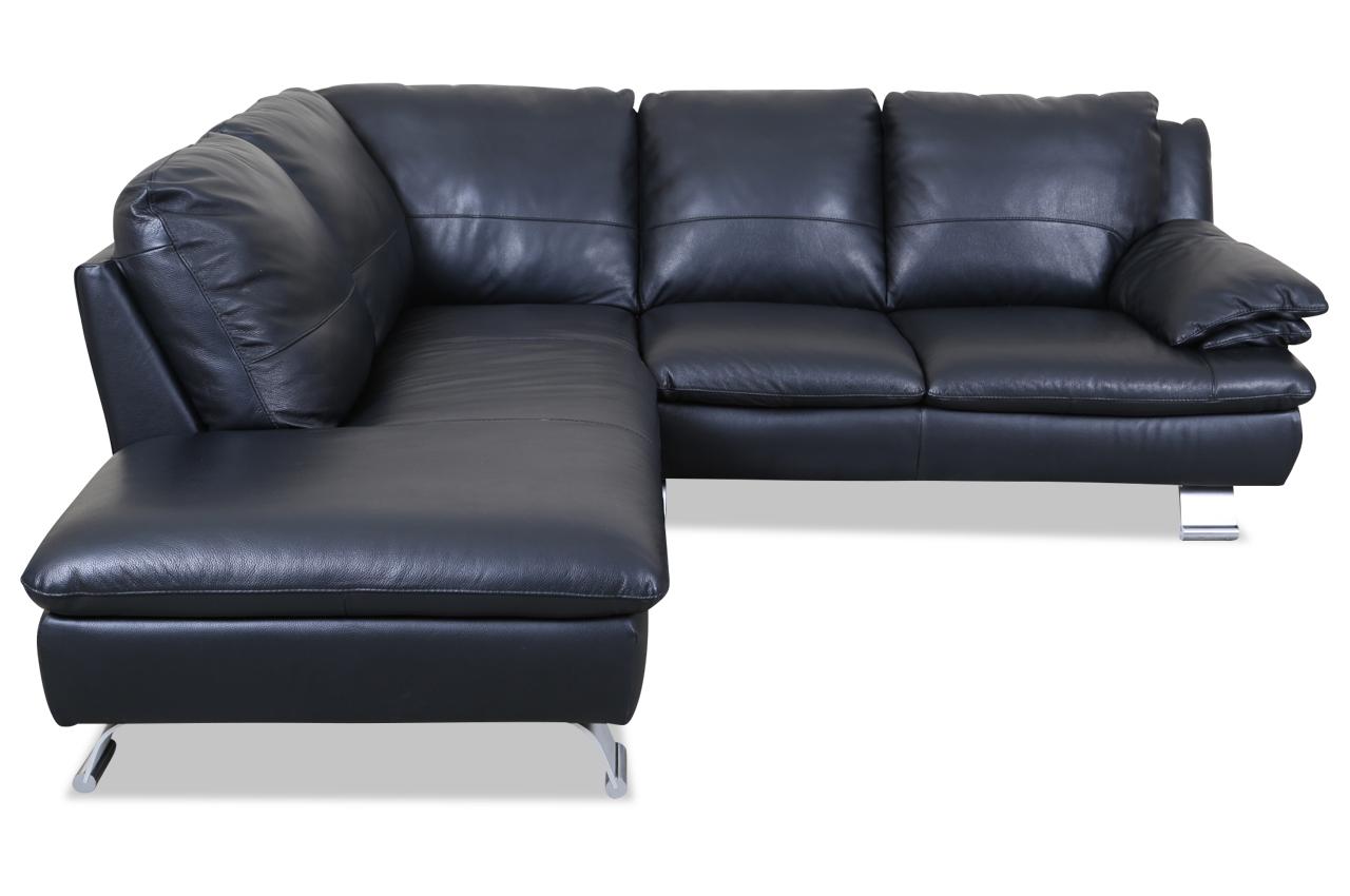 editions leder ecksofa xl z742 schwarz sofas zum. Black Bedroom Furniture Sets. Home Design Ideas
