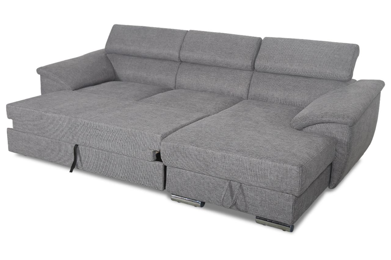 ecksofa xl david mit schlaffunktion grau sofas zum. Black Bedroom Furniture Sets. Home Design Ideas
