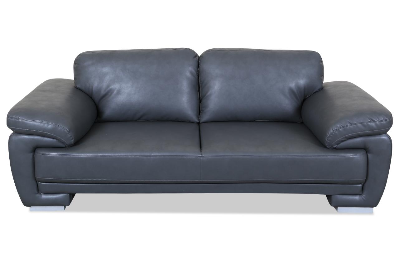 3er sofa nele anthrazit sofas zum halben preis for Sofa anthrazit