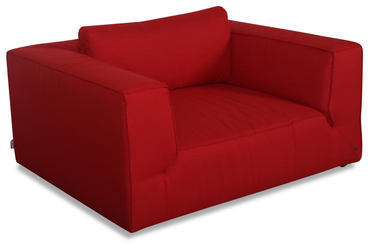 tom tailor bigsessel xxl big cube style rot sofas zum halben preis. Black Bedroom Furniture Sets. Home Design Ideas