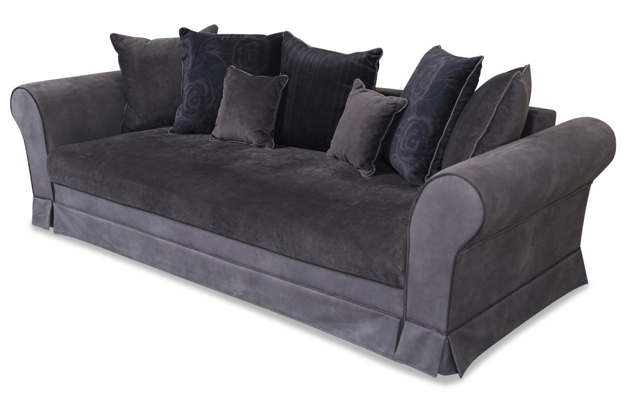 Blackredwhite 3er sofa catherine mit schlaffunktion braun mit federkern sofas zum halben preis 3er sofa mit schlaffunktion