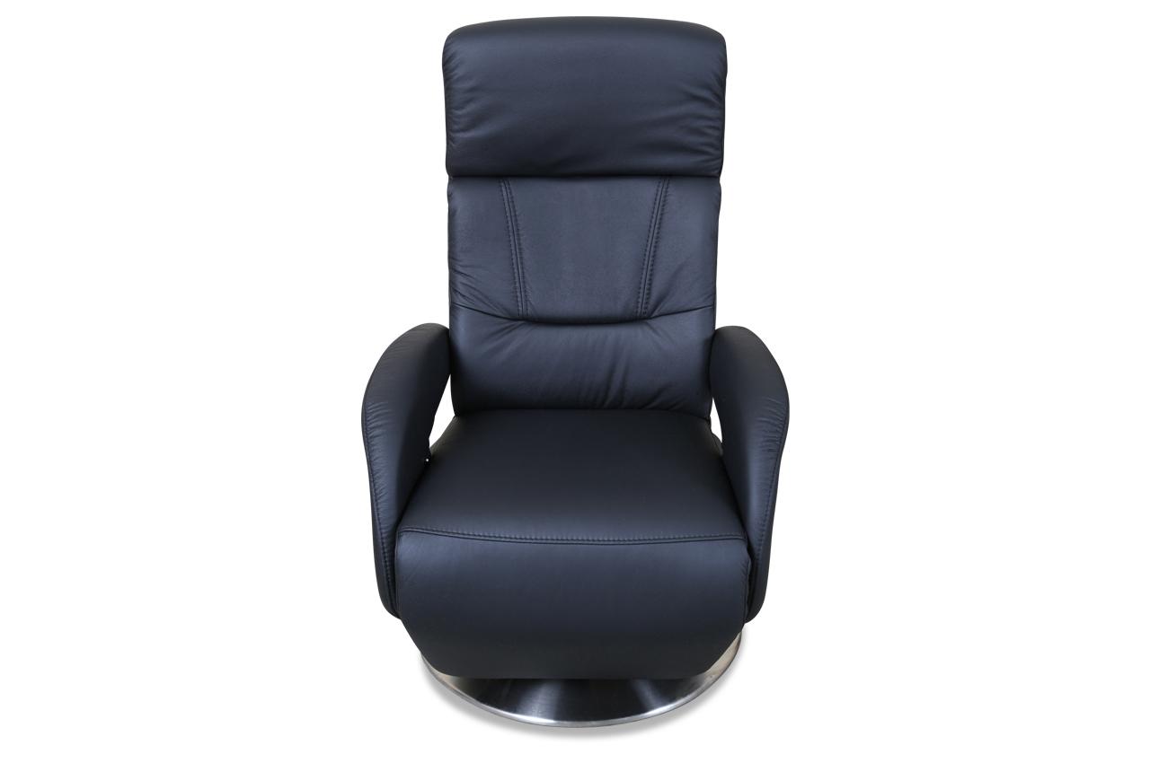 leder fernsehsessel mit relax schwarz mit federkern sofas zum halben preis. Black Bedroom Furniture Sets. Home Design Ideas