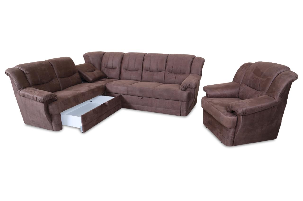 rundecke orion mit sessel mit relax und schlaffunktion. Black Bedroom Furniture Sets. Home Design Ideas