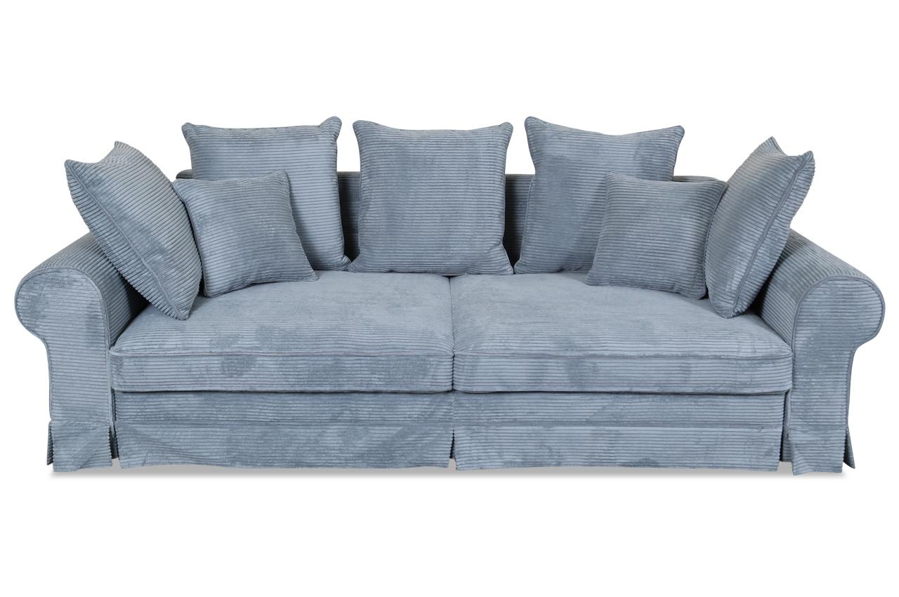 Wunderbar Couch Hellblau Beste Wahl Blackredwhite 3er-sofa Yankee - Mit Schlaffunktion -