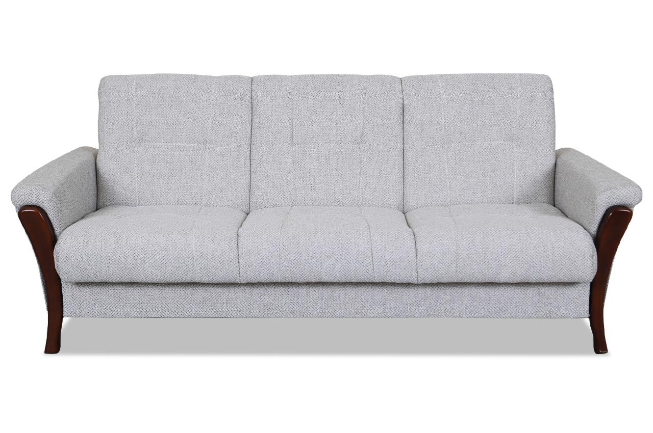 Furntrade 3er sofa brawo mit schlaffunktion grau sofas zum halben preis 3er sofa mit schlaffunktion