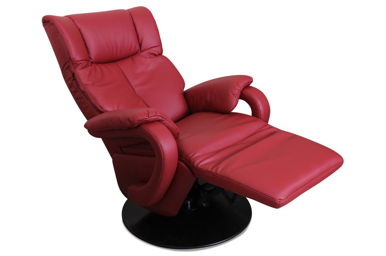 leder fernsehsessel rot mit federkern sofas zum halben preis. Black Bedroom Furniture Sets. Home Design Ideas