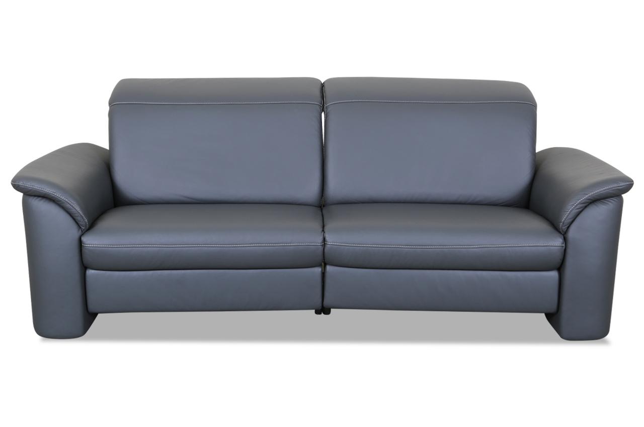leder 3er sofa anthrazit sofas zum halben preis. Black Bedroom Furniture Sets. Home Design Ideas