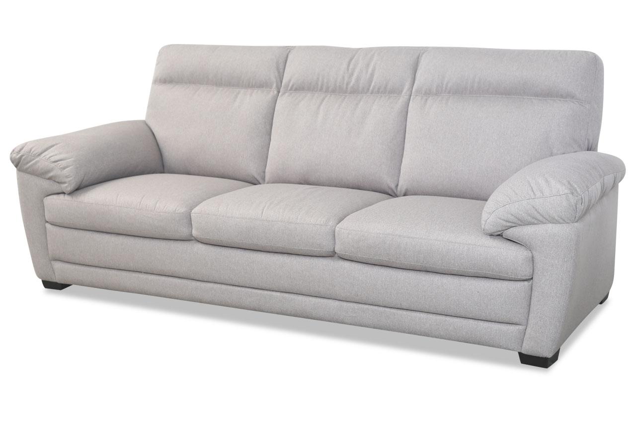 editions 3er sofa u074 grau sofas zum halben preis. Black Bedroom Furniture Sets. Home Design Ideas