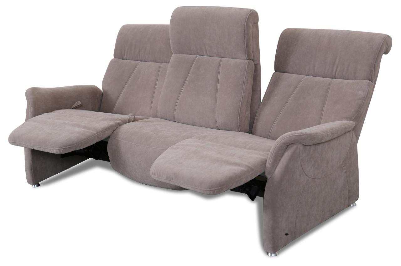 3er sofa mit relax braun mit federkern sofas zum. Black Bedroom Furniture Sets. Home Design Ideas