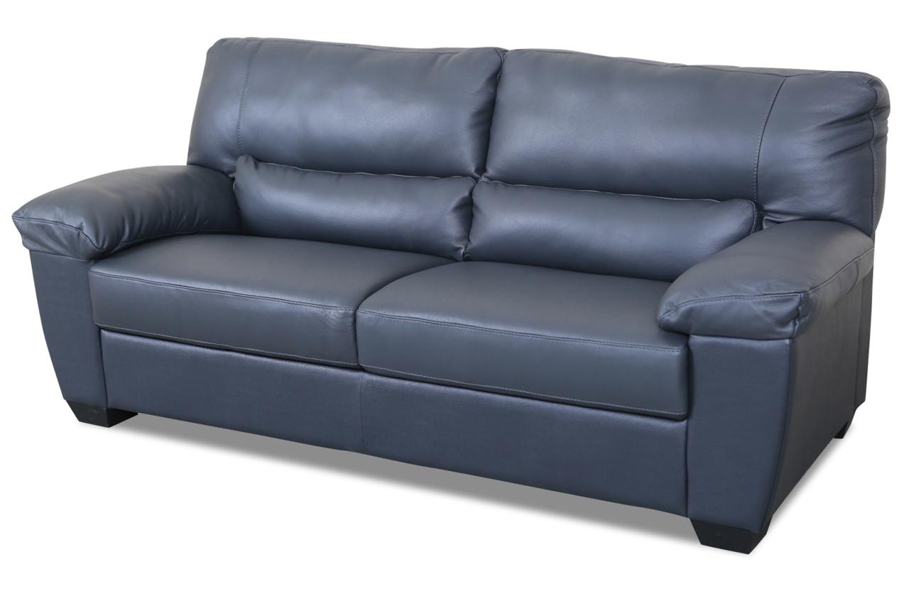 editions leder 2er sofa u172 anthrazit mit federkern. Black Bedroom Furniture Sets. Home Design Ideas