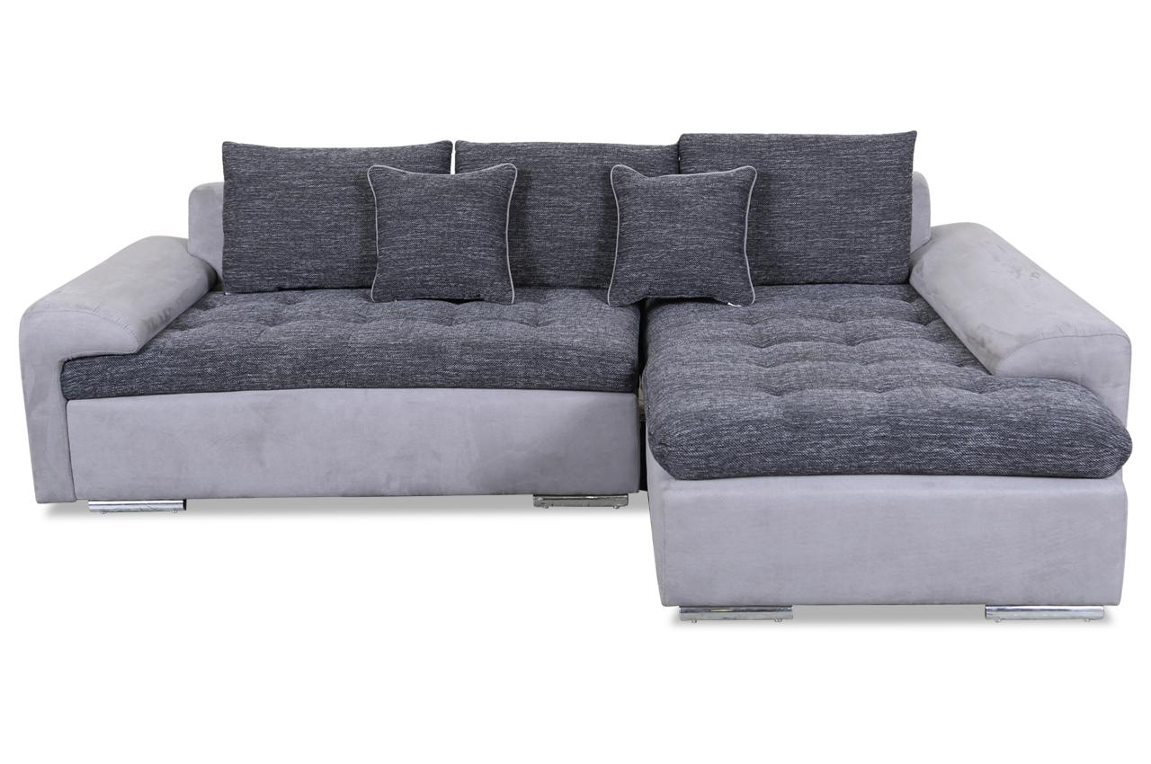 ecksofa rumba grau sofas zum halben preis. Black Bedroom Furniture Sets. Home Design Ideas