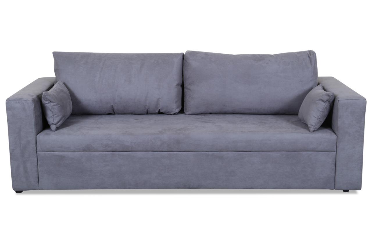 stolmar 3er sofa pur anthrazit sofas zum halben preis. Black Bedroom Furniture Sets. Home Design Ideas