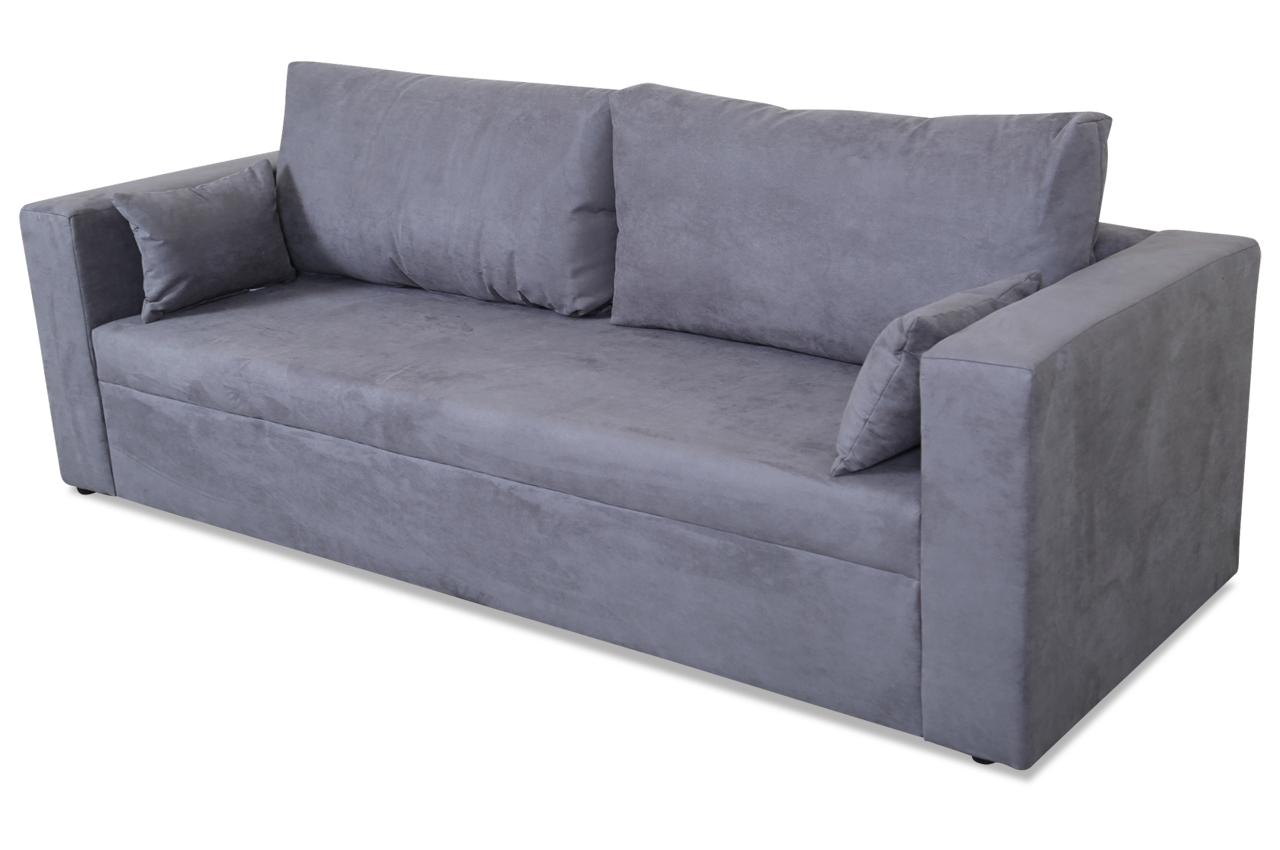 Stolmar 3er sofa pur anthrazit sofas zum halben preis for Sofa anthrazit