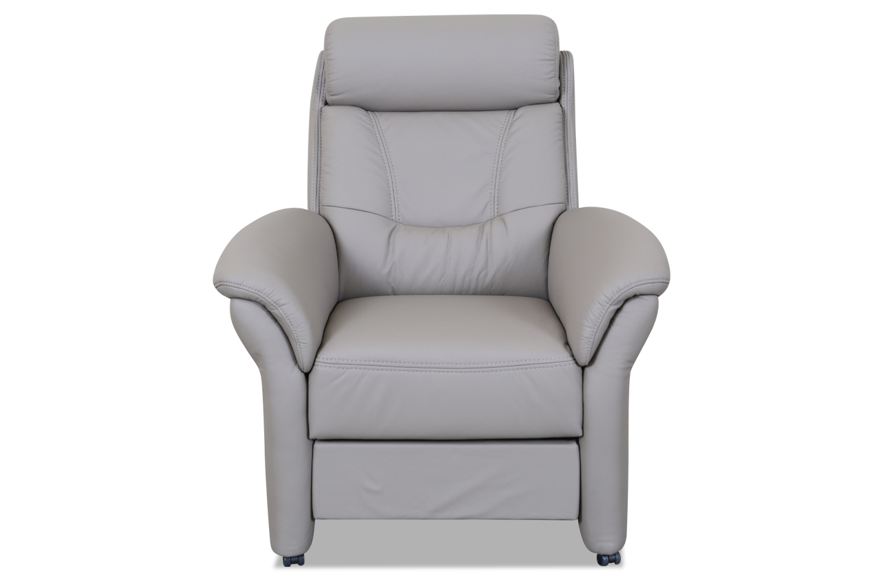 leder fernsehsessel grau sofas zum halben preis. Black Bedroom Furniture Sets. Home Design Ideas
