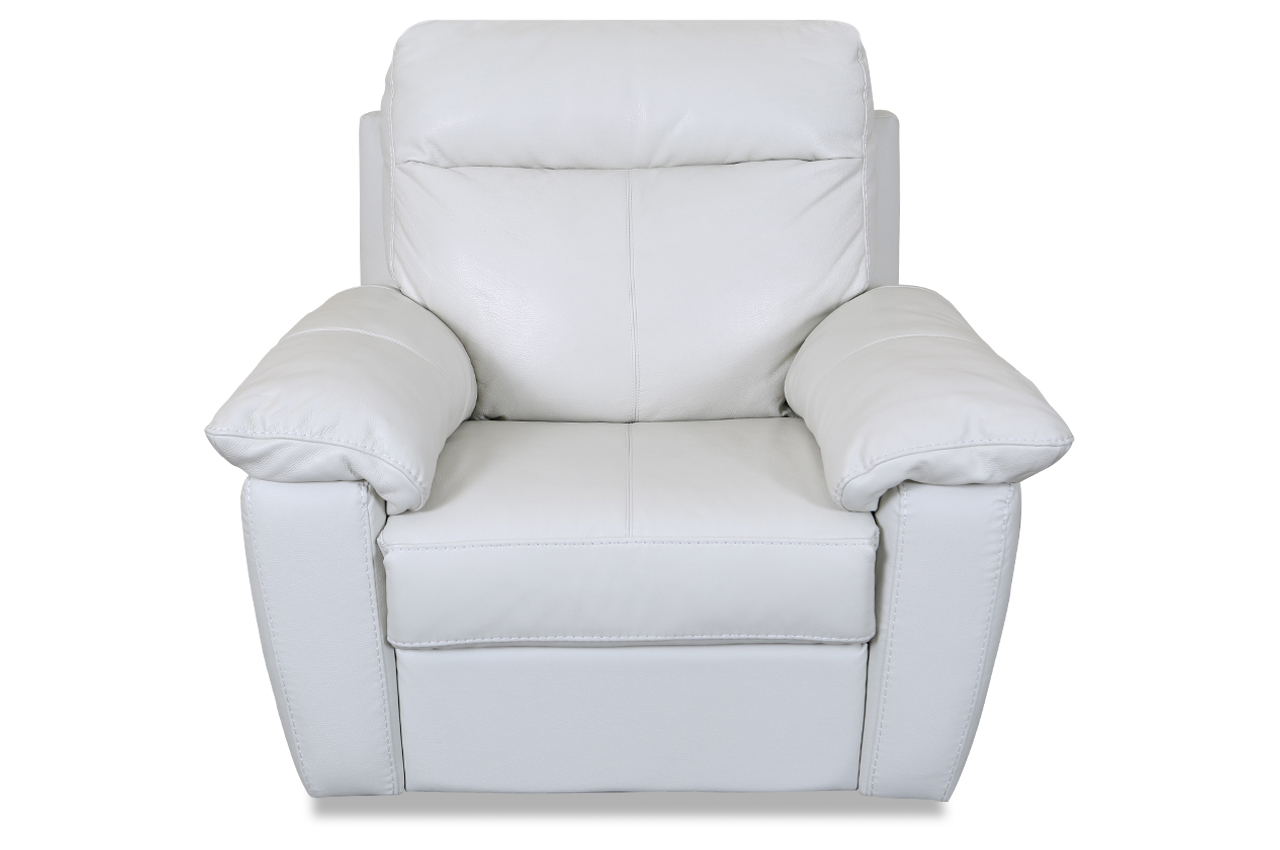editions leder fernsehsessel u070 mit relax weiss sofas zum halben preis. Black Bedroom Furniture Sets. Home Design Ideas