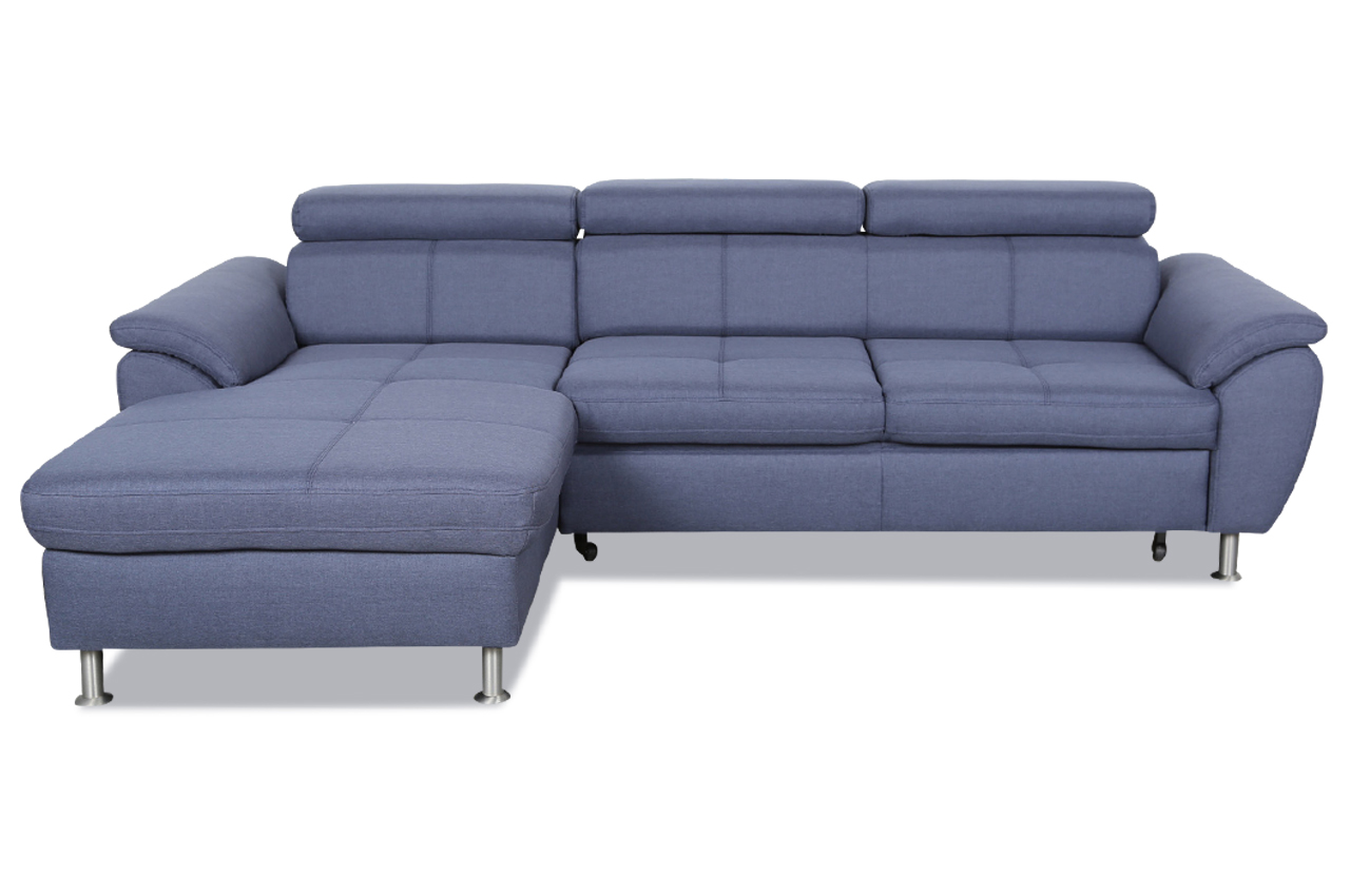 exxpo by gala ecksofa pegasus mit schlaffunktion blau sofas zum halben preis. Black Bedroom Furniture Sets. Home Design Ideas
