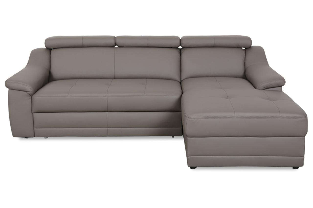 exxpo by gala ecksofa alba mit schlaffunktion braun sofas zum halben preis. Black Bedroom Furniture Sets. Home Design Ideas