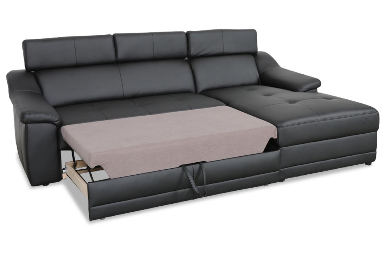 exxpo by gala ecksofa alba mit schlaffunktion schwarz sofas zum halben preis. Black Bedroom Furniture Sets. Home Design Ideas