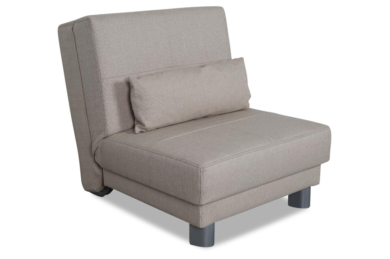 furntrade sessel rose mit schlaffunktion creme sofas. Black Bedroom Furniture Sets. Home Design Ideas