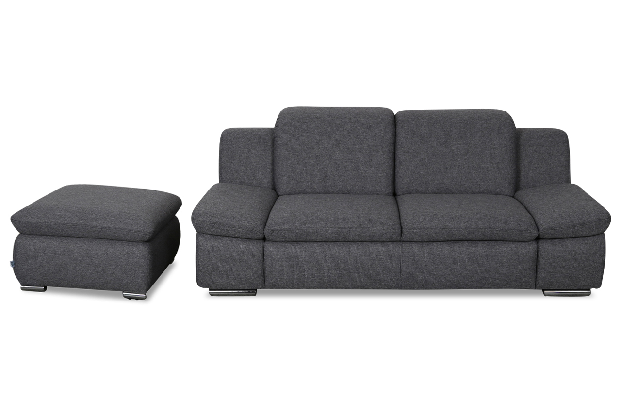 sofa hocker gulliver ecksofa mit hocker reduziert with. Black Bedroom Furniture Sets. Home Design Ideas