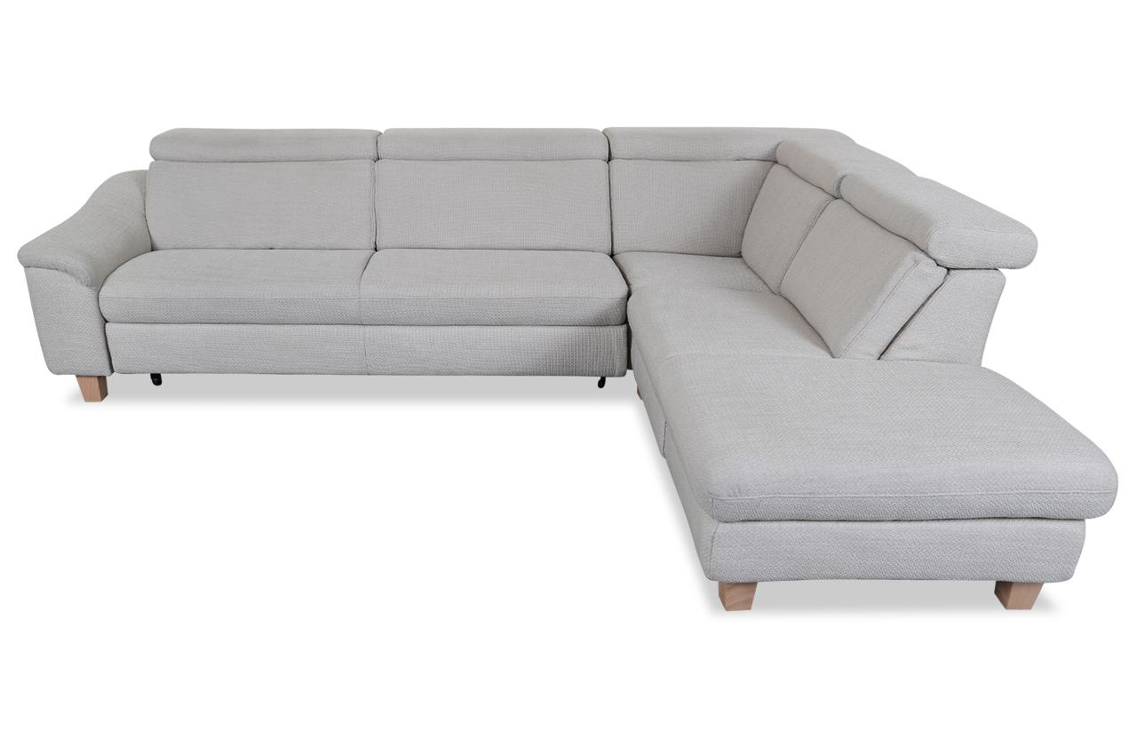 rundecke mit schlaffunktion grau mit federkern sofas zum halben preis. Black Bedroom Furniture Sets. Home Design Ideas