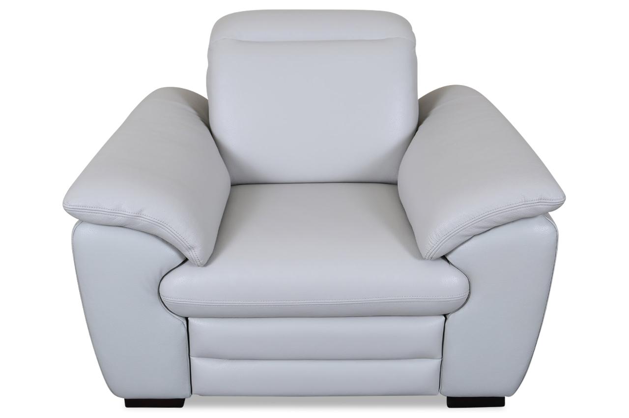 htl international leder fernsehsessel 8483 mit relax grau sofas zum halben preis. Black Bedroom Furniture Sets. Home Design Ideas
