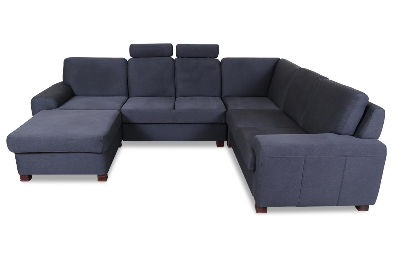 wohnlandschaft plaza anthrazit sofas zum halben preis. Black Bedroom Furniture Sets. Home Design Ideas