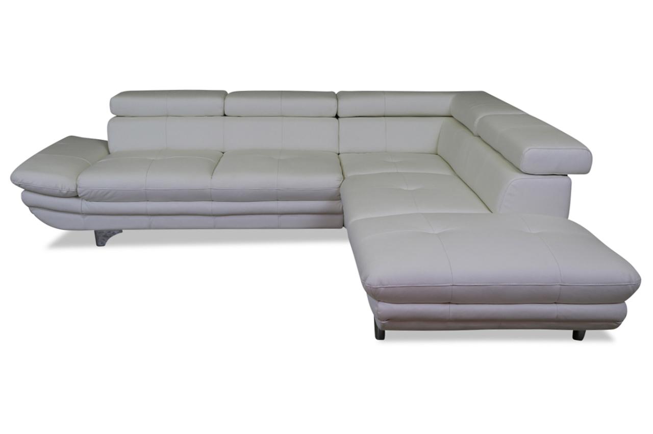 cotta leder ecksofa xl enterprise grau sofas zum. Black Bedroom Furniture Sets. Home Design Ideas
