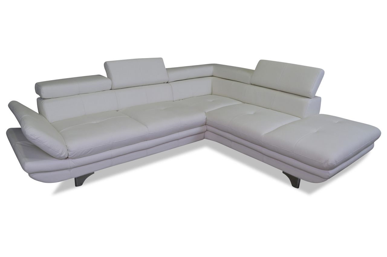 cotta leder ecksofa xl enterprise grau sofas zum. Black Bedroom Furniture Sets. Home Design Ideas