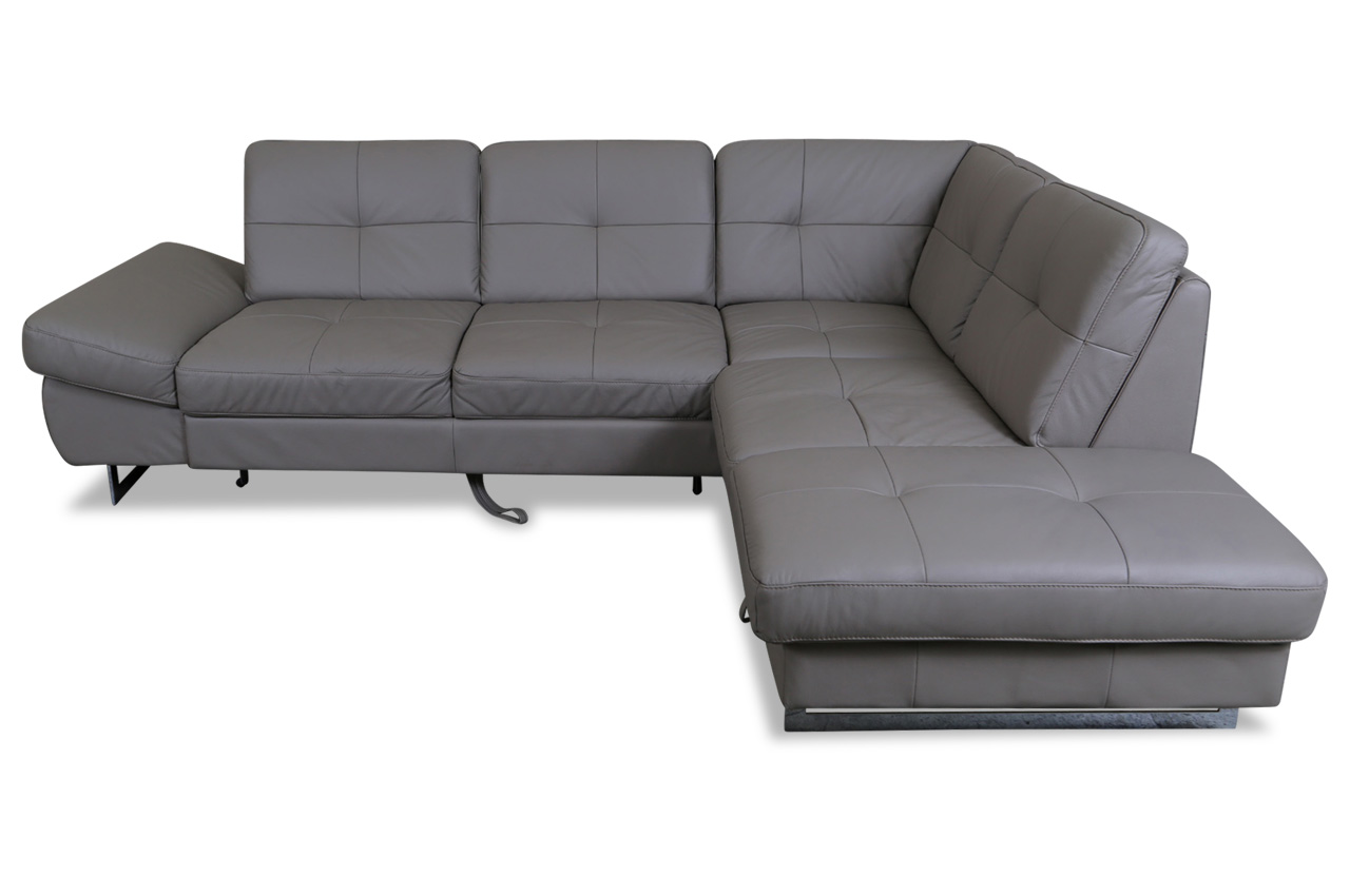 cotta leder ecksofa xl rockstar mit schlaffunktion. Black Bedroom Furniture Sets. Home Design Ideas