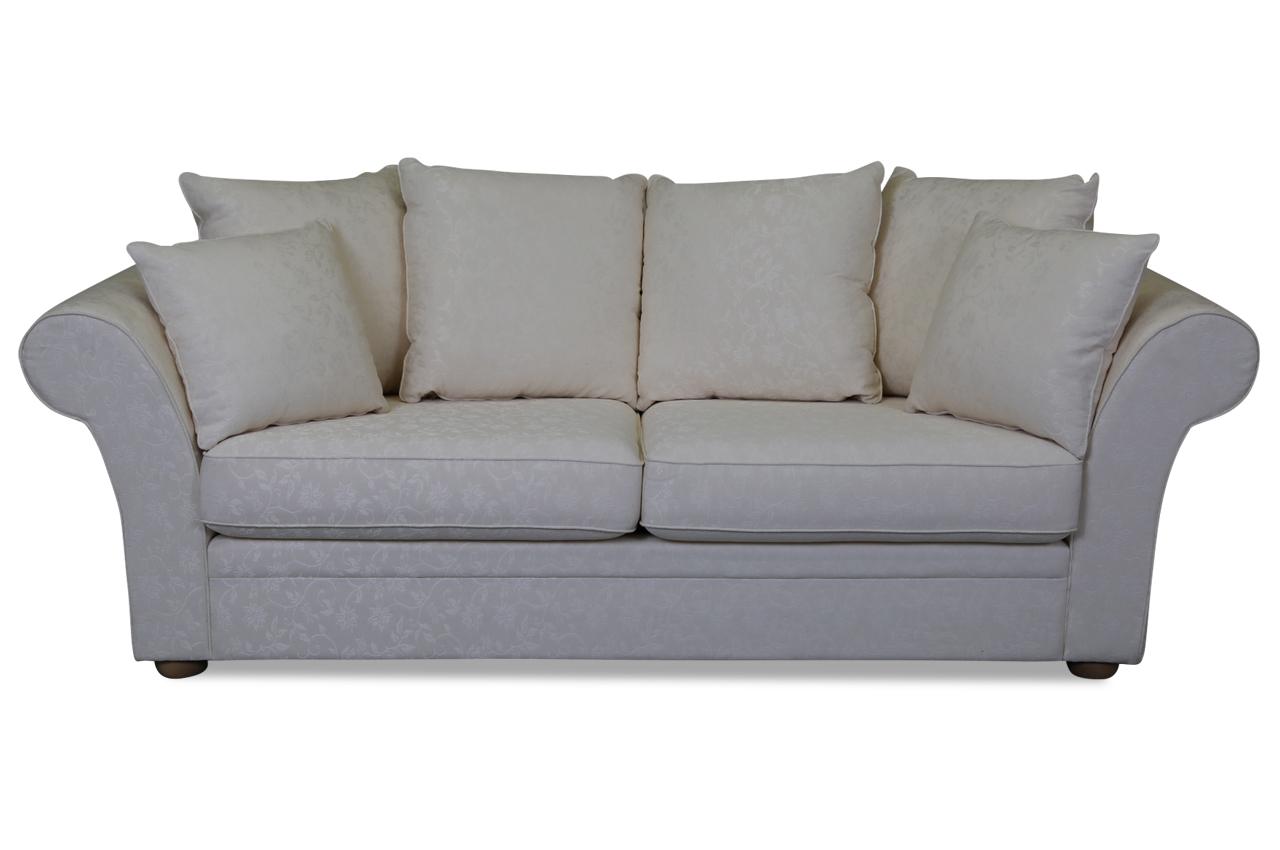 furninova 3er sofa orlando creme sofas zum halben preis. Black Bedroom Furniture Sets. Home Design Ideas