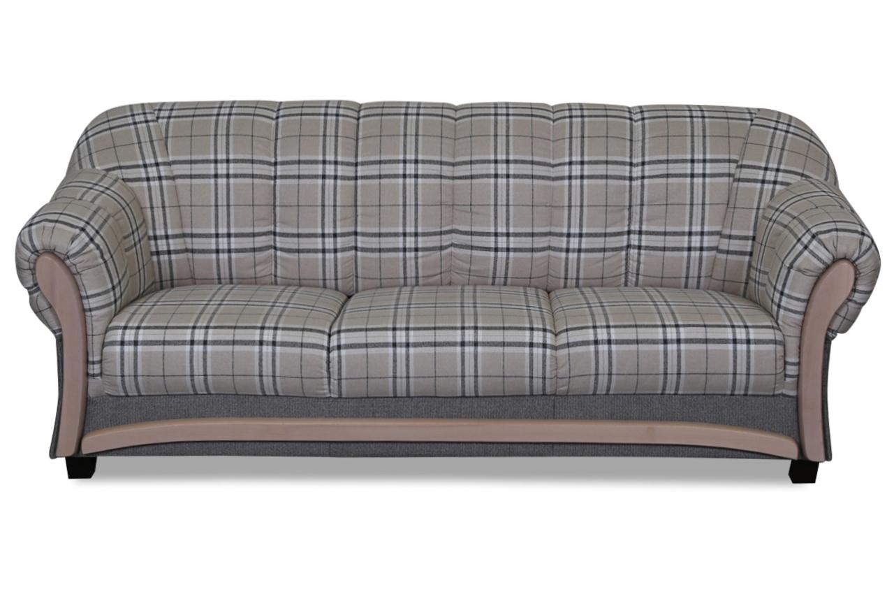 3er sofa wera braun sofas zum halben preis. Black Bedroom Furniture Sets. Home Design Ideas