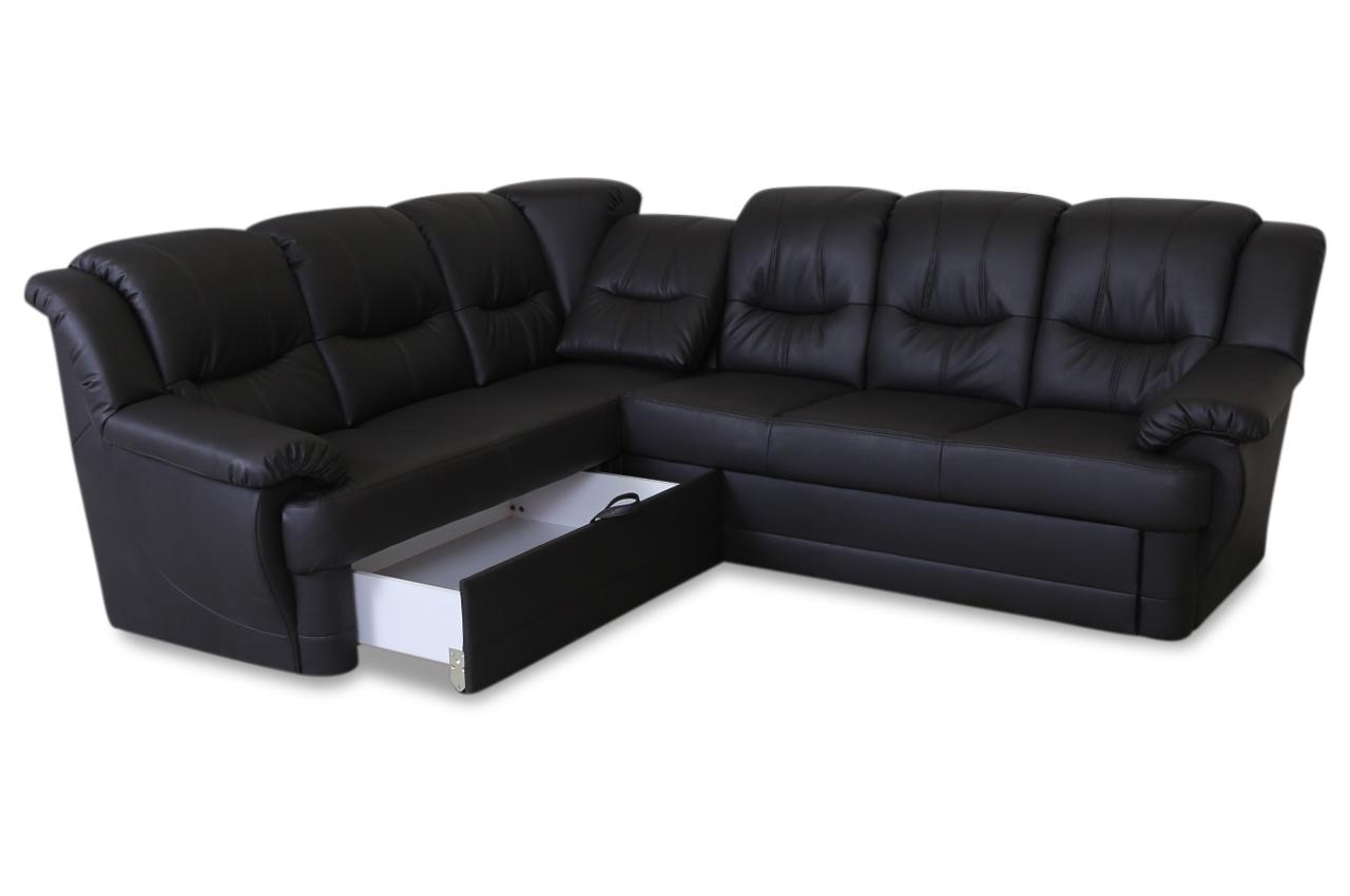 cotta rundecke orion mit relax und schlaffunktion schwarz sofas zum halben preis. Black Bedroom Furniture Sets. Home Design Ideas