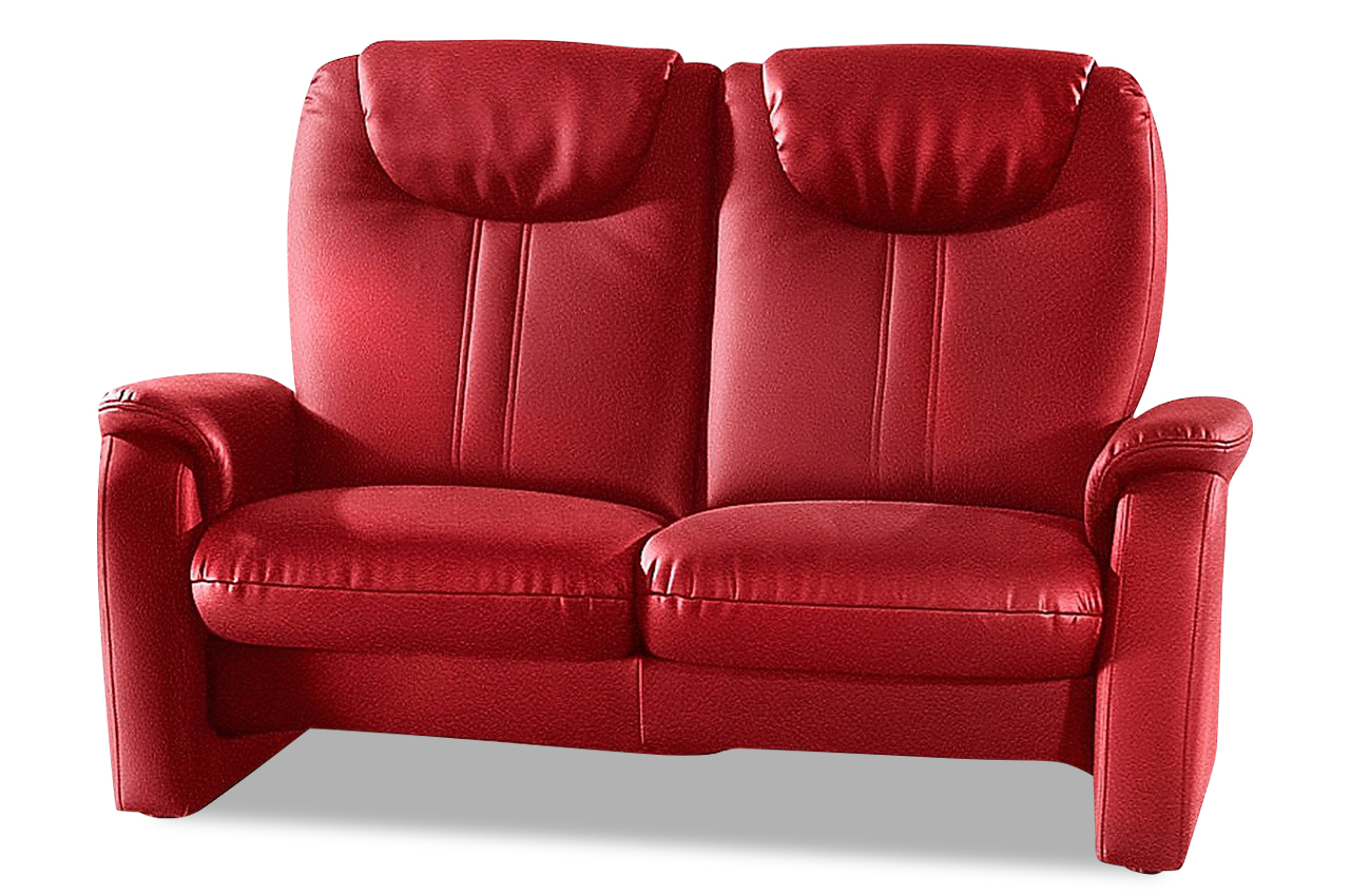 2er sofa mit relax rot sofas zum halben preis. Black Bedroom Furniture Sets. Home Design Ideas