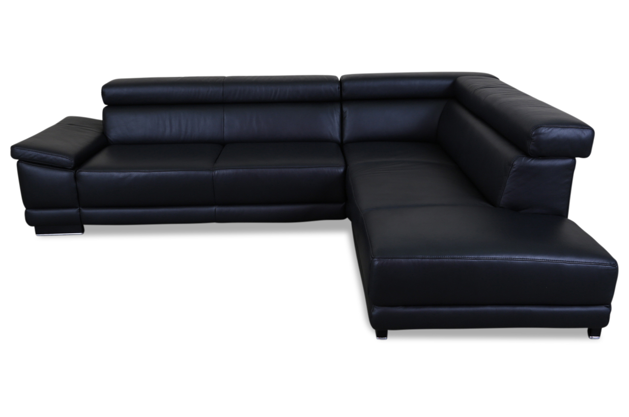 leder ecksofa xl schwarz sofas zum halben preis. Black Bedroom Furniture Sets. Home Design Ideas
