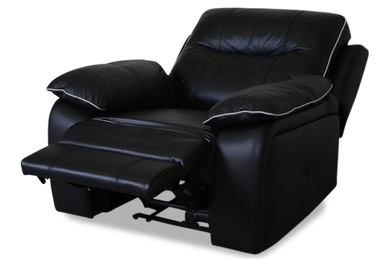 furntrade leder fernsehsessel 31734 schwarz sofas zum halben preis. Black Bedroom Furniture Sets. Home Design Ideas