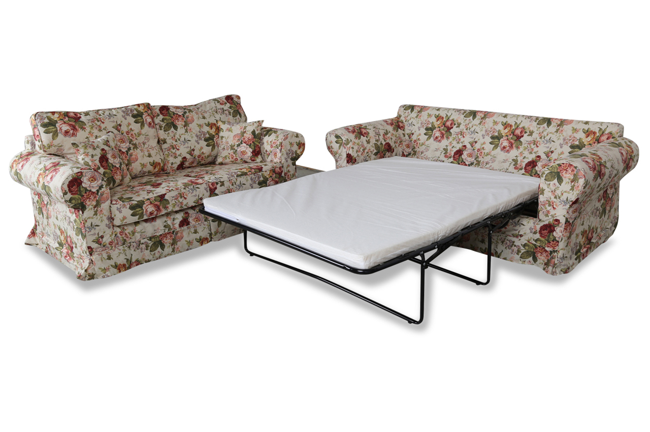 stolmar garnitur 3 2 dolce mit schlaffunktion bunt sofas zum halben preis. Black Bedroom Furniture Sets. Home Design Ideas